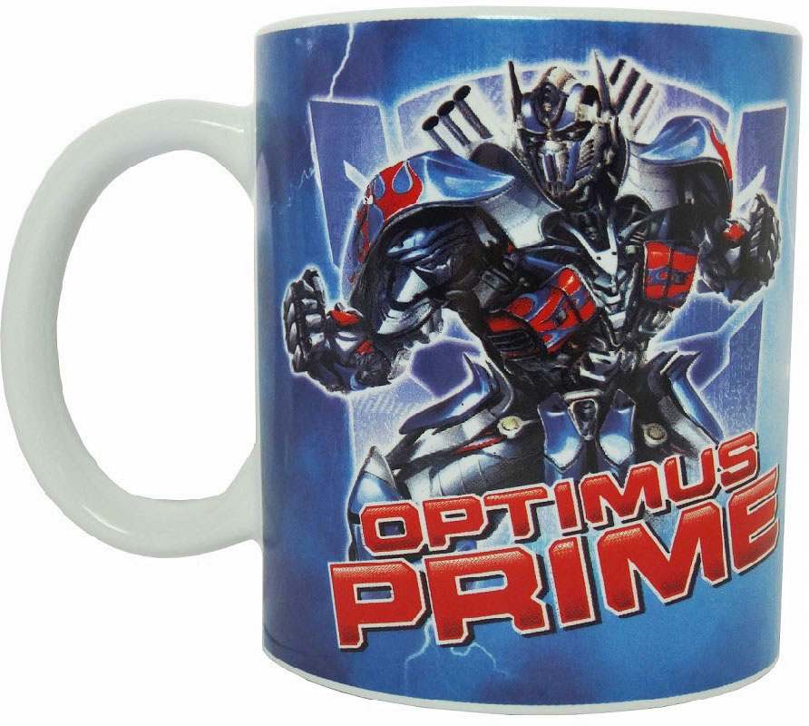 """Transformers кружка детская """"Последний рыцарь Противостояние"""" - это стильный дизайн и высокое качество."""