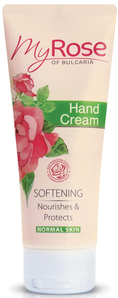 My Rose of Bulgaria Крем для рук Hand Cream, 75 мл кремы lavena крем для лица дневной против морщин anti wrinkle day cream my rose of bulgaria
