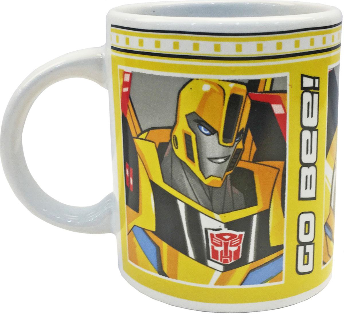 """Transformers кружка детская """"Роботы под прикрытием"""" - это стильный дизайн и высокое качество."""