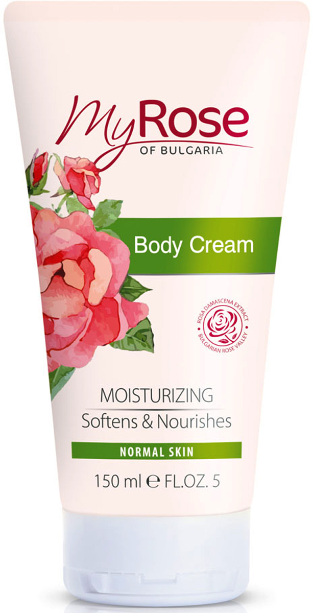 My Rose of Bulgaria Крем для тела Body Cream, 150 мл картридж для принтера hp 789 775 ml latex designjet ink cartridge yellow