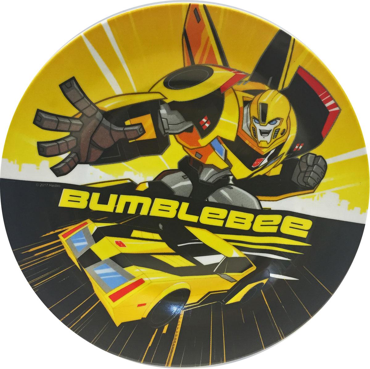 Transformers Тарелка детская Роботы под прикрытием диаметр 19 см hasbro transformers b0067 трансформеры роботы под прикрытием гиперчэндж в ассортименте