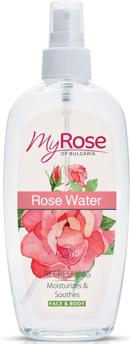 My Rose of Bulgaria Розовая вода Rose Water, 220 мл303317Болгарскую розовую воду рекомендуется наносить на лицо перед каждым выходом из дома, тогда состояние Вашей кожи, благодаря защитным свойствам этого средства, значительно улучшится. Кроме того, розовая вода обладает превосходным запахом и в дневные часы вполне способна заменить парфюм. После нанесения розовой воды на кожу наступает незамедлительный освежающий эффект, поэтому это средство является превосходным помощников в случаях, когда нужно быстро привести себя в порядок перед важной встречей.Прекрасные косметические и лечебные свойства розовой водыТонизирует кожуСодержит микрокапли натурального розового масла Болгарской Rosa DamascenaНемедленный освежающий эффектС антиоксидантным действиемЗащищает кожу лица и тела от вредных внешних воздействийПитает кожуС захватывающим ароматом розыБез парабеновЕсли купить розовую воду из Болгарии и регулярно ее использовать очень скоро вы заметите существенные положительные изменения на коже. Активные ингредиенты средства: эфирное розовое масло (Rosa Damascena Oil). В розовом масле содержатся около 300 разных веществ. Самое качественное и востребованное розовое масло производится из культивированной в Болгарии Дамасской розы. Масло обладает антибактериальным, регенерирующим и защитным действием и передает свои свойства розовой воде.