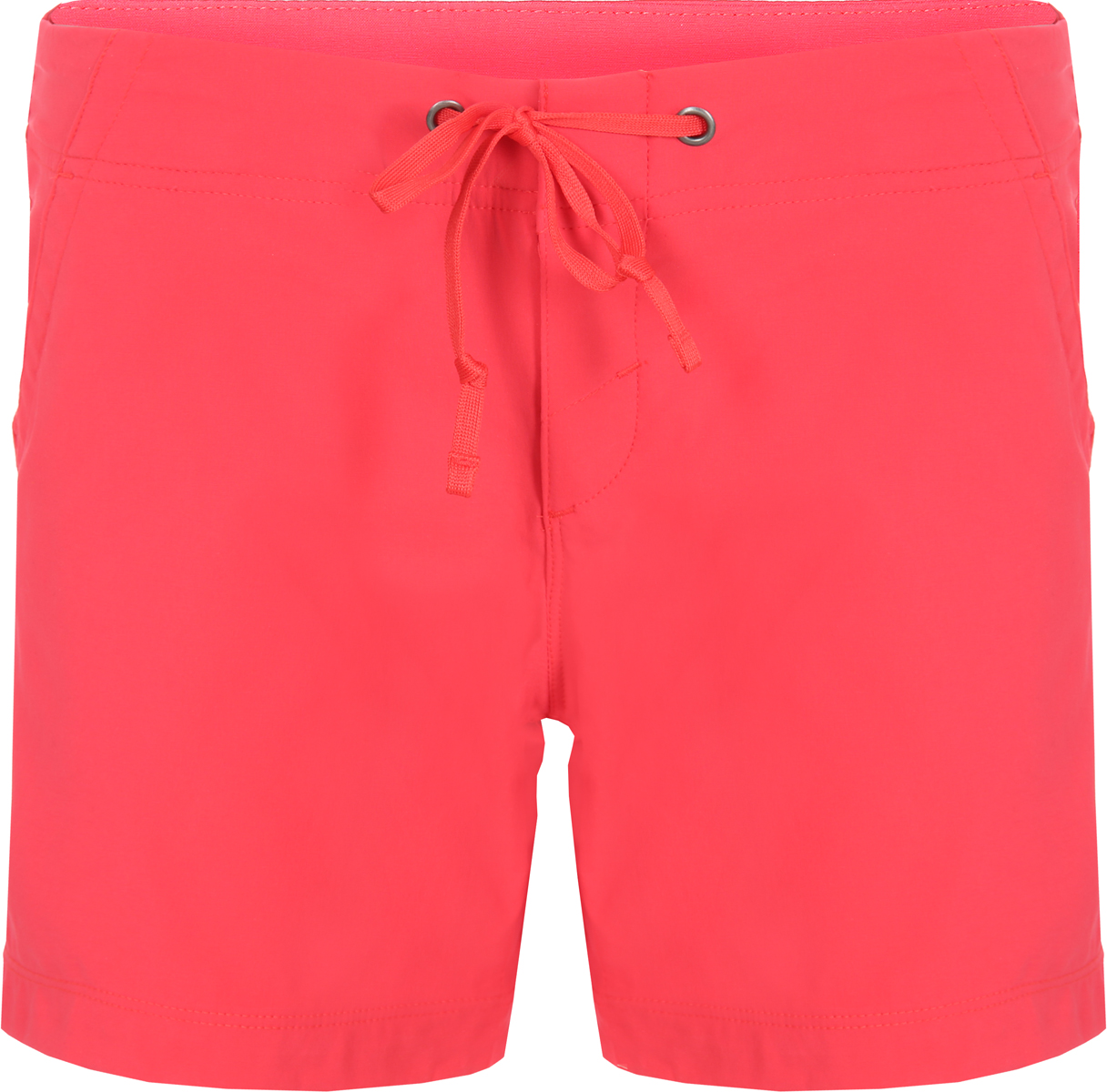 Шорты женские Columbia Anytime Outdoor Short, цвет: красный. 1579151-653. Размер 8 (48) шорты женские