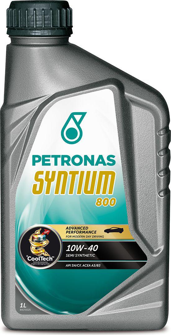 """Масло моторное Petronas """"Syntium 800"""", полусинтетическое, 10W-40, 1 л 18031619"""
