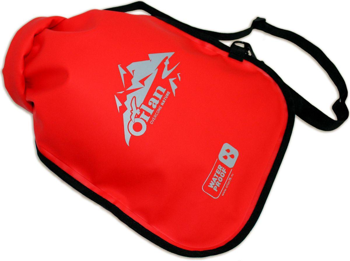 Гермомешок Orlan Компакт, цвет: красный, 5 лGM06B106B101L5KНебольшой гермомешок для спорта и туризма в серии Компакт имеет современный дизайн и предназначен для любителей активного спорта иотдыха на воде. Занимает меньше места при хранении: расстелите мешок на дно чемодана и не потеряйте ни одного полезного сантиметра. Гермомешок защитит ваши вещи от воды, пыли и грязи. Заверните верх на несколько оборотов и зафиксируйте его по бокам на защелки КвикЛок. Такое простое решение в сочетании с герметичной сваркой швов позволяет эксплуатировать гермомешок в проливной дождь, сырой снег игрязь.Дополнительно в комплекте съемная лямка из усиленной стропы для переноски на плече. Мешок: Ткань ПВХ на текстильной основе.