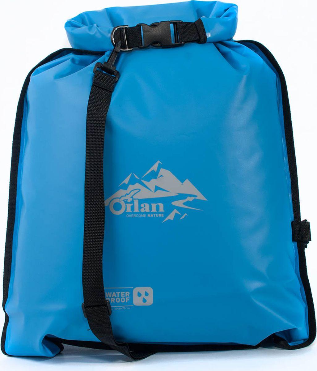 Гермомешок Orlan Компакт, цвет: голубой, 45 лGM20P120P101L45KГермомешок для спорта и туризма в серии Компакт имеет современный дизайн и предназначен для любителей активного спорта и отдыха на воде.Занимает меньше места при хранении: расстелите мешок на дно чемодана и не потеряйте ни одного полезного сантиметра.Гермомешок защитит ваши вещи от воды, пыли и грязи. Заверните верх на несколько оборотов и зафиксируйте его по бокам на защелки Квик Лок. Такое простое решение в сочетании с герметичной сваркой швов позволяет эксплуатировать гермомешок в проливной дождь, сырой снег и грязь. Дополнительно в комплекте съемная лямка из усиленной стропы для переноски на плече.Ткань ПВХ литой двухсторонний.