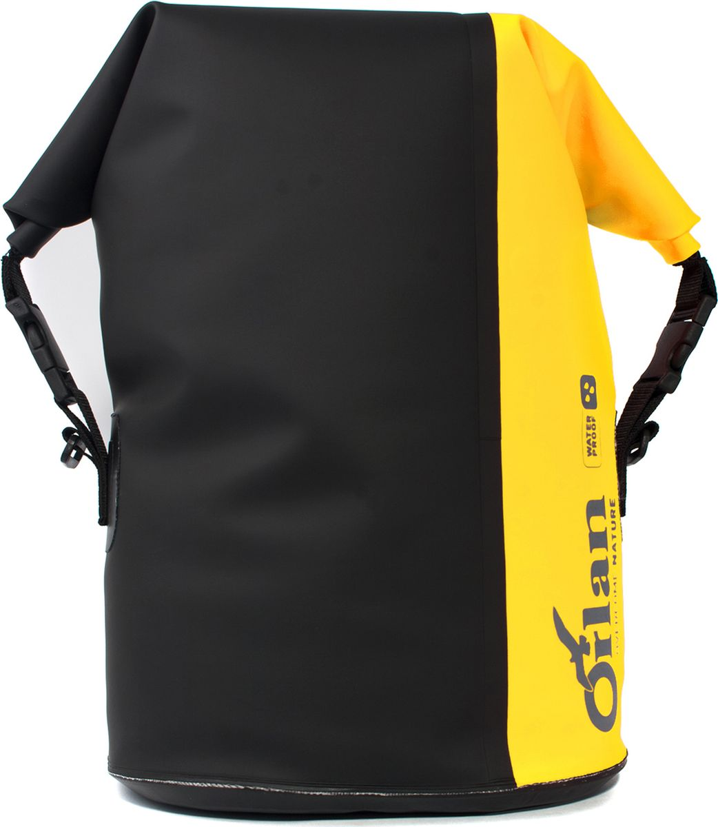 Сумка велосипедная Orlan Экстрим, герметичная, цвет: желтый, 30 лGV12B101P101L15B2Комплект состоит из 2-х сумок (правая, лева я).Вместительные, яркие , герметичные велосумки серии Экстрим.Удобные надежные крепления на багажник велосипеда при помощи крючков. Дополнительная фиксация клапаном и стяжка к средней стойки багажника . Яркий сигнальный цвет сумки сделает вас замене на дороге, для безопасной езды в ночное время - световозвращающий катафот.Имеют усиленное двуслойное дно сумки , жесткую вкладку с внутренней стороны для защиты от истирания. Легко моются. Используемые материалы: Сумка: Комбинация тканей ПВХ литая. Усиления дна и задней части: ПВХ 650 гр.