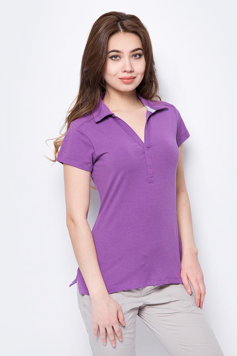 цена на Поло женское Columbia Shadow Time Polo, цвет: фиолетовый. 1492661-547. Размер XS (42)