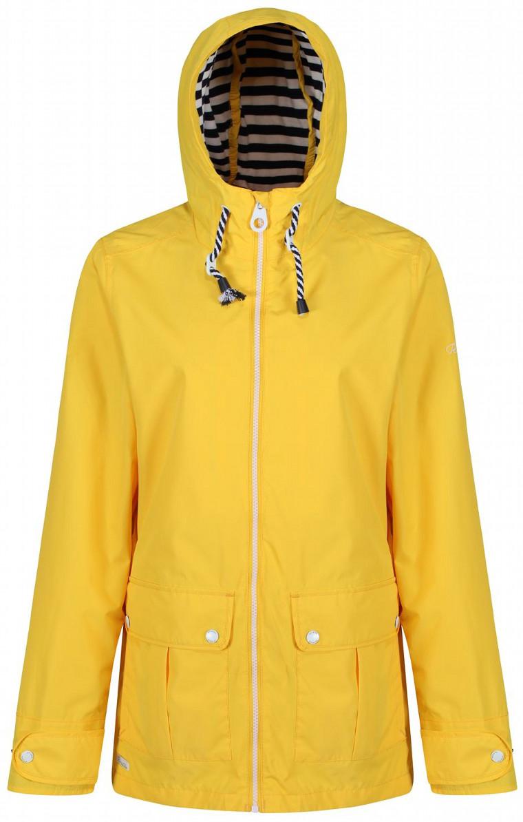 Ветровка женская Regatta Bayeur II, цвет: желтый. RWW292-34C. Размер 10 (42/44) ветровка regatta regatta re036emiqs87