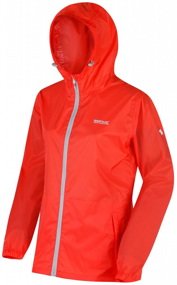 Купить Ветровка женская Regatta Wmn Pk It Jkt III, цвет: оранжевый. RWW305-6QM. Размер 14 (46/48)