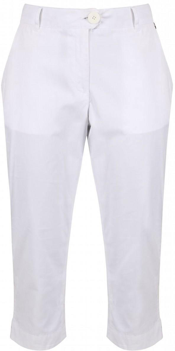 Капри женские Regatta Maleena Capri, цвет: белый. RWJ199-900. Размер 18 (50) капри