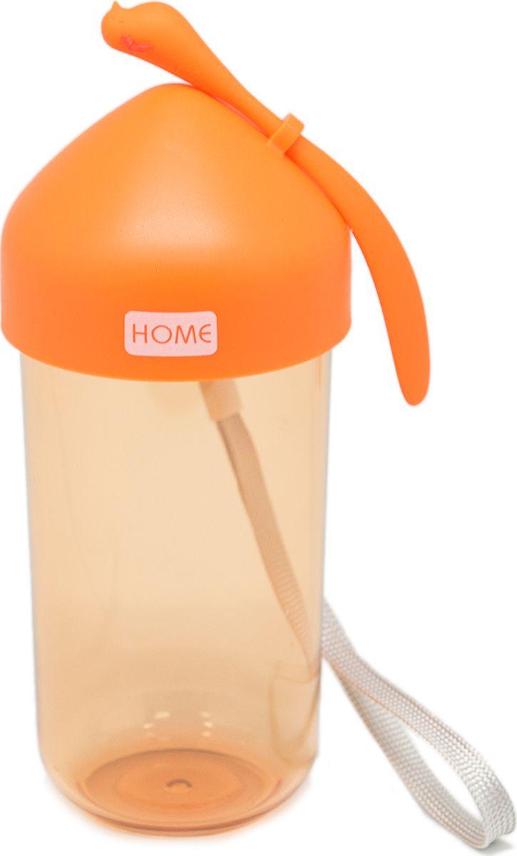 Бутылка Еж-стайл Колибри, цвет: оранжевый, 330 мл0909160В бутылочке Еж Стайл можно носить с собой воду или другие напитки в офис, на учебу, на занятия спортом и прогулки - в деловой сумке или спортивной, и везде она будет выглядеть уместно.
