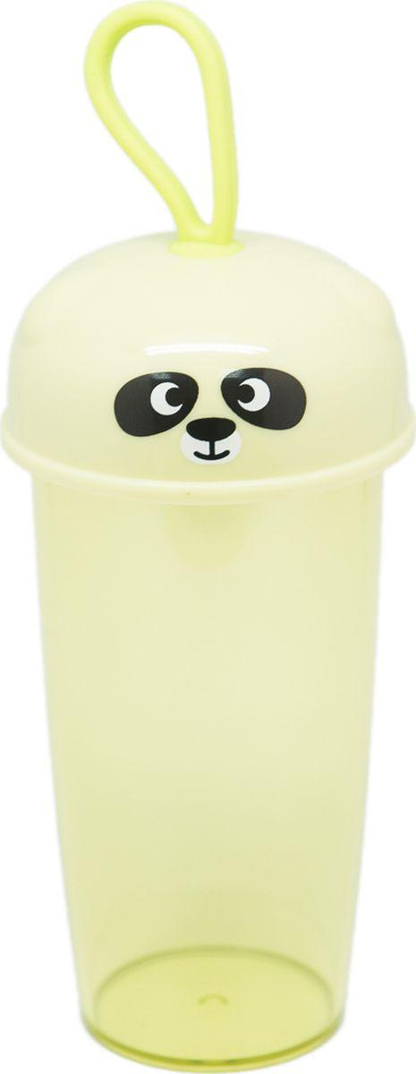 Бутылка Еж-стайл Зверики, цвет: зеленый, 350 мл0909166В бутылочке Еж Стайл можно носить с собой воду или другие напитки в офис, на учебу, на занятия спортом и прогулки - в деловой сумке или спортивной, и везде она будет выглядеть уместно.