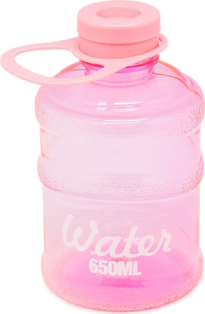Бутылка Еж-стайл Мини-Бутыль, цвет: розовый, 650 мл0909170В бутылочке Еж Стайл можно носить с собой воду или другие напитки в офис, на учебу, на занятия спортом и прогулки - в деловой сумке или спортивной, и везде она будет выглядеть уместно.