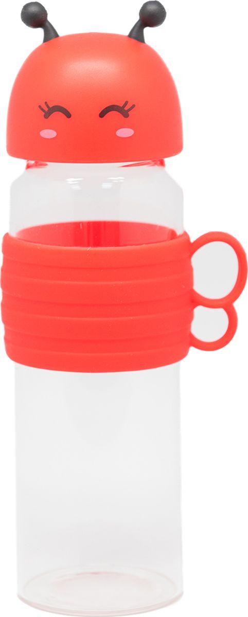 Бутылка Еж-стайл Bee, цвет: красный, 480 мл0909213В бутылочке Еж Стайл можно носить с собой воду или другие напитки в офис, на учебу, на занятия спортом и прогулки - в деловой сумке или спортивной, и везде она будет выглядеть уместно.