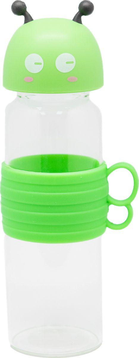 Бутылка Еж-стайл Bee, цвет: зеленый, 480 мл0909215В бутылочке Еж Стайл можно носить с собой воду или другие напитки в офис, на учебу, на занятия спортом и прогулки - в деловой сумке или спортивной, и везде она будет выглядеть уместно.