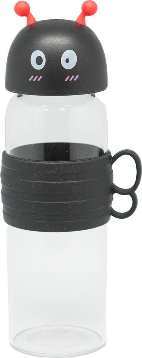 Бутылка Еж-стайл Bee, цвет: черный, 480 мл