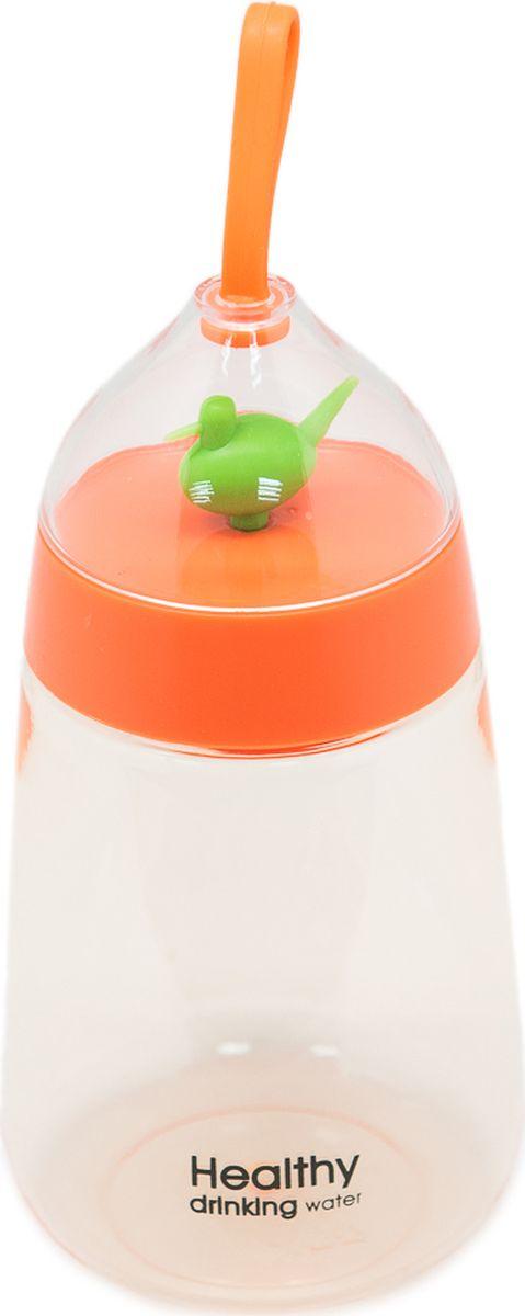 """Бутылка Еж-стайл """"Healthy Duck"""", цвет: оранжевый, 400 мл"""