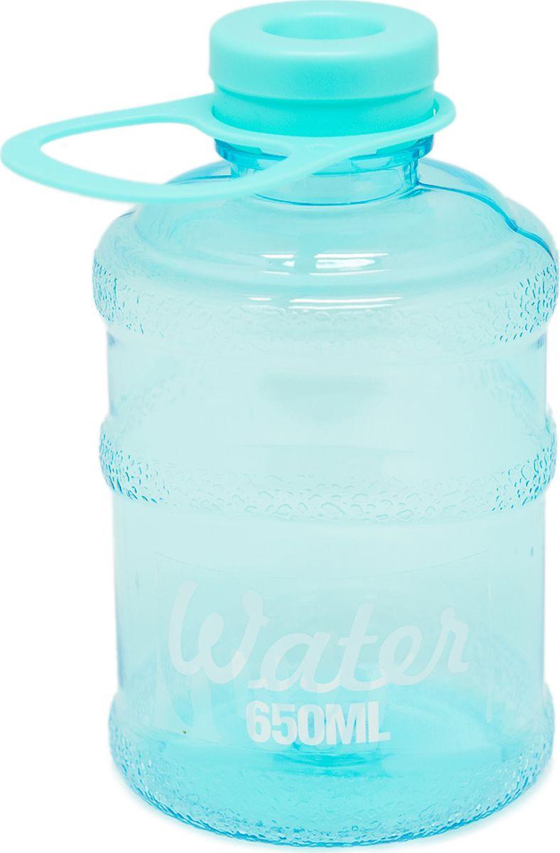 Бутылка Еж-стайл Мини-Бутыль, цвет: бирюзовый, 650 мл0909221В бутылочке Еж Стайл можно носить с собой воду или другие напитки в офис, на учебу, на занятия спортом и прогулки - в деловой сумке или спортивной, и везде она будет выглядеть уместно.