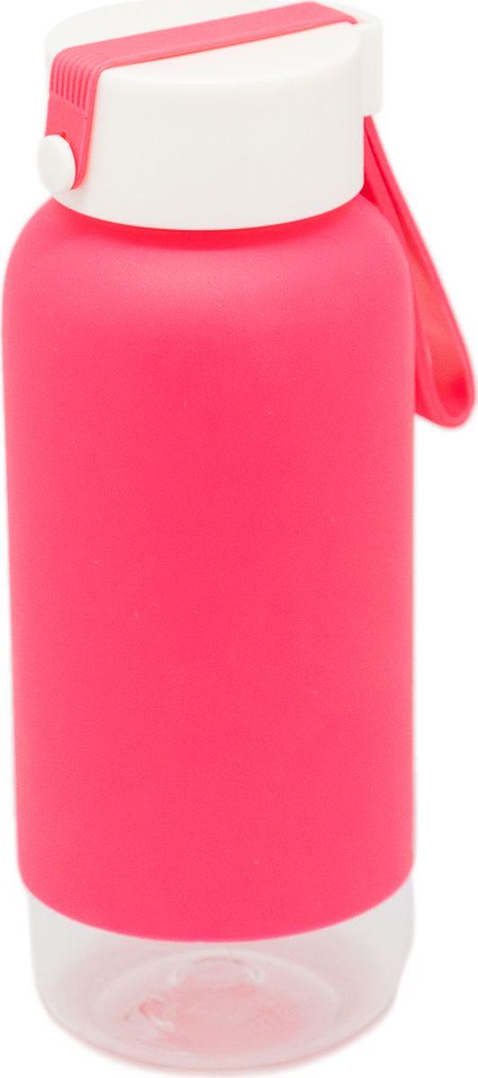 Бутылка Еж-стайл Simida, цвет: розовый, 410 мл0909502В бутылочке Еж Стайл можно носить с собой воду или другие напитки в офис, на учебу, на занятия спортом и прогулки - в деловой сумке или спортивной, и везде она будет выглядеть уместно.