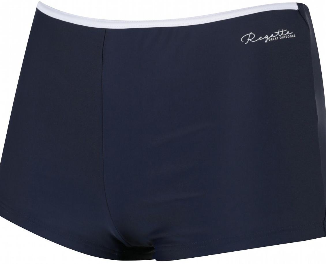 Купальные плавки женские Regatta Aceana Bikini Short, цвет: синий. RWM007-4CK. Размер 12 (44/46) купальные плавки женские regatta aceana bikini string цвет темно синий rwm008 4ck размер 16 48 50