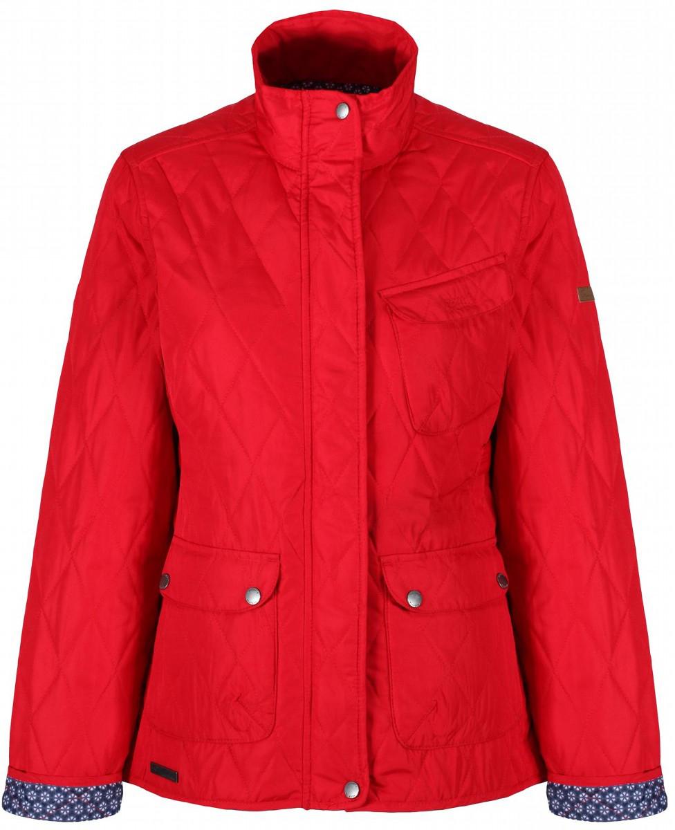 Куртка женская Regatta Camryn, цвет: красный. RWN110-7GF. Размер 18 (50) куртка утепленная regatta regatta re036ewwnb24