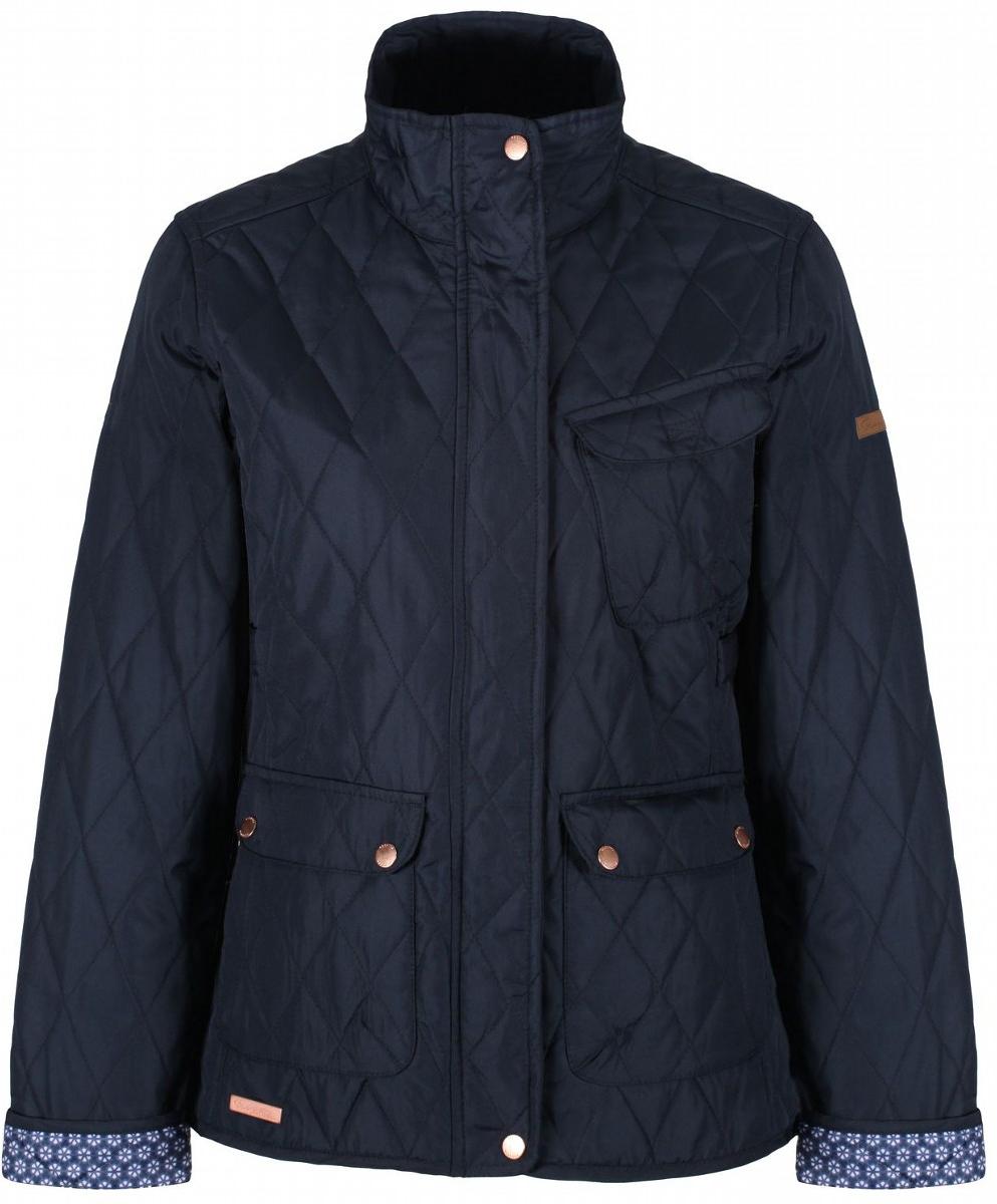 Куртка женская Regatta Camryn, цвет: синий. RWN110-540. Размер 18 (50) куртка утепленная regatta regatta re036ewwnb24