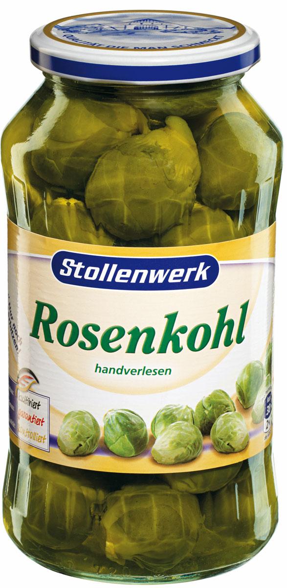 Stollenwerk Брюссельская капуста молодая и нежная, 720 г88365Брюссельская капуста Stollenwerk отличается отменным вкусом, можно добавлять в салаты.