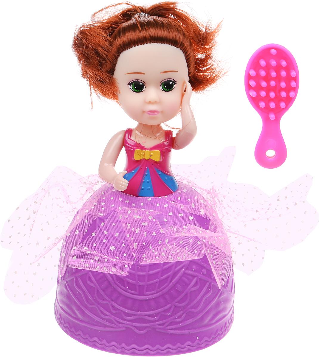 JUNnew Мини-кукла Cupcake Jelato цвет фиолетовый mermaid cupcake stand