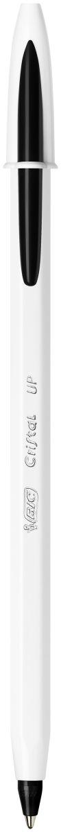 Bic Ручка шариковая Cristal Up черная bic ручка перьевая easy click classic цвет корпуса фиолетовый