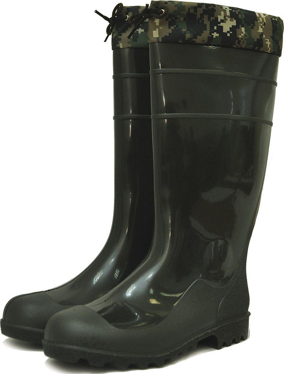 Сапоги мужские Nordman, с манжетами, утепленные, цвет: оливковый. ps_9_1_utm-081-41. Размер 41ps_9_1_utm-081-41Модель высоких мужских демисезонных сапог Nordman характеризуется отличными эксплуатационными характеристиками и современным внешним видом. На базе данной модели мужских сапог выпускается ряд моделей рыбацких сапог и полукомбинезонов, а также серия рабочей обуви. Манжета утягивается по ширине голени при помощи шнурка. Допускается использование в качестве рабочей обуви, обуви для сада, огорода. Сапоги выполнены из ПВХ.Основные характеристики:Температура экстрима +5°C;Материал утеплителя: НТП (нетканое полиэфирное полотно);Высота голенища: 38 см.