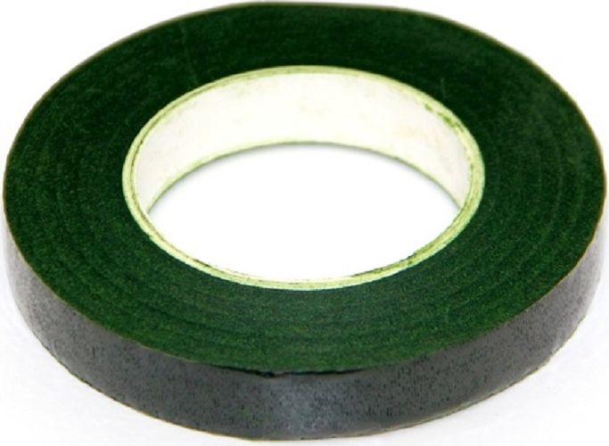 Лента флористическая Рукоделие, цвет: зеленый мох, ширина 12 мм, длина 27,4 мFL-02Флористическая лента (тейп-лента) – это тонкая бумажная лента, пропитанная специальным составом. Она обладает легким клеящим эффектом. Флористическая лента может использоваться: - Во флористике: для декоративной обработки и коррекции стеблей свежесрезанных и искусственных цветов, для создания стеблей цветка / веточек деревьев; для скрепления и фиксации элементов флористической композиции; для придания устойчивости стеблям растений; для продления жизни свежесрезанных цветов в условиях отсутствия воды. - В конфетной флористике: для создания букетов из конфет. - В квиллинге. Ширина: 12 мм Длина: 30 ярдов (27,4 м)