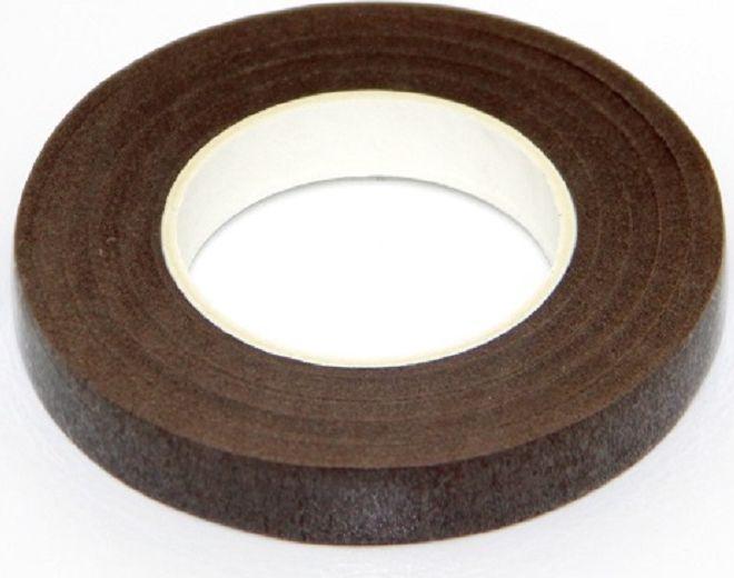 Лента флористическая Рукоделие, цвет: коричневый, ширина 12 мм, длина 27,4 мFL-04Флористическая лента (тейп-лента) – это тонкая бумажная лента, пропитанная специальным составом. Она обладает легким клеящим эффектом. Флористическая лента может использоваться: - Во флористике: для декоративной обработки и коррекции стеблей свежесрезанных и искусственных цветов, для создания стеблей цветка / веточек деревьев; для скрепления и фиксации элементов флористической композиции; для придания устойчивости стеблям растений; для продления жизни свежесрезанных цветов в условиях отсутствия воды. - В конфетной флористике: для создания букетов из конфет. - В квиллинге. Ширина: 12 мм Длина: 30 ярдов (27,4 м)