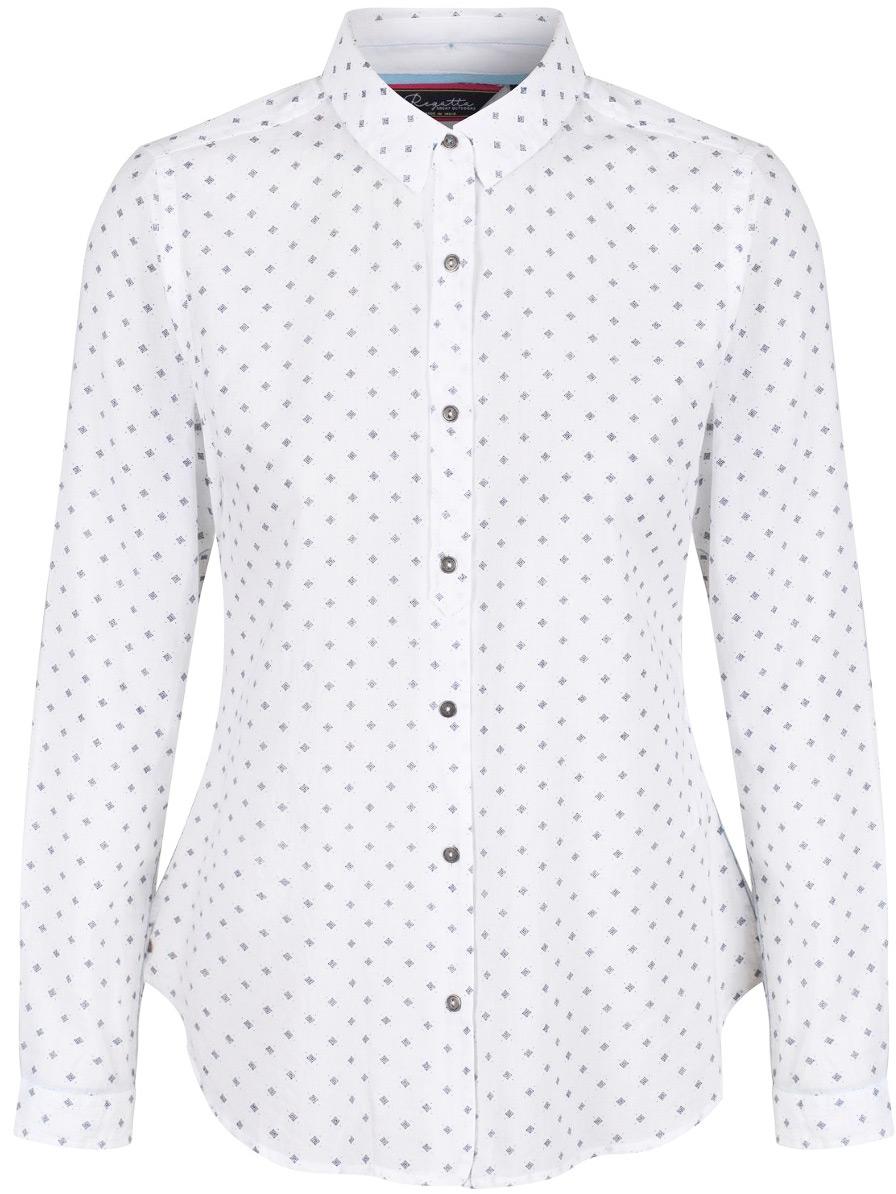 Рубашка женская Regatta Meena, цвет: белый. RWS081-900. Размер 14 (46/48)