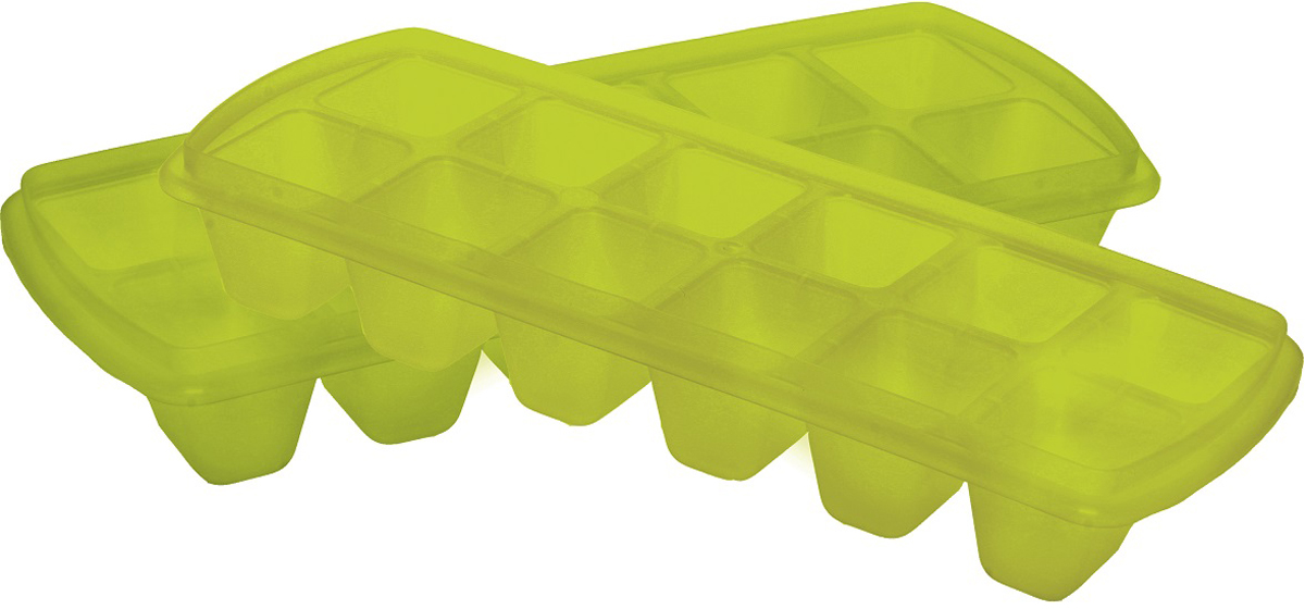 """Форма для льда """"Plast team"""" выполнена из высококачественного пищевого пластика. За счет  формы ячеек куски льда получаются крупные, что очень удобно при приготовлении охлажденных  напитков. После заморозки форму можно немного скрутить (незначительные деформации  специально предусмотрены материалом, из которого изготовлена форма), перевернуть, поднять  форму - куски льда останутся на плоской крышке."""