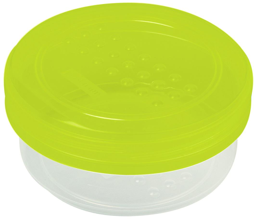 """Легкая, прочная банка Plast team """"Pattern"""" предназначена для хранения продуктов, заморозки, разогревания в СВЧ, переноски обедов. Конструктивное решение крышки и дна банки обеспечивает надежную установку друг на друга при хранении в холодильнике или шкафу. Использовать в СВЧ только для разогрева пищи (не более 3-х минут), при открытой крышке."""