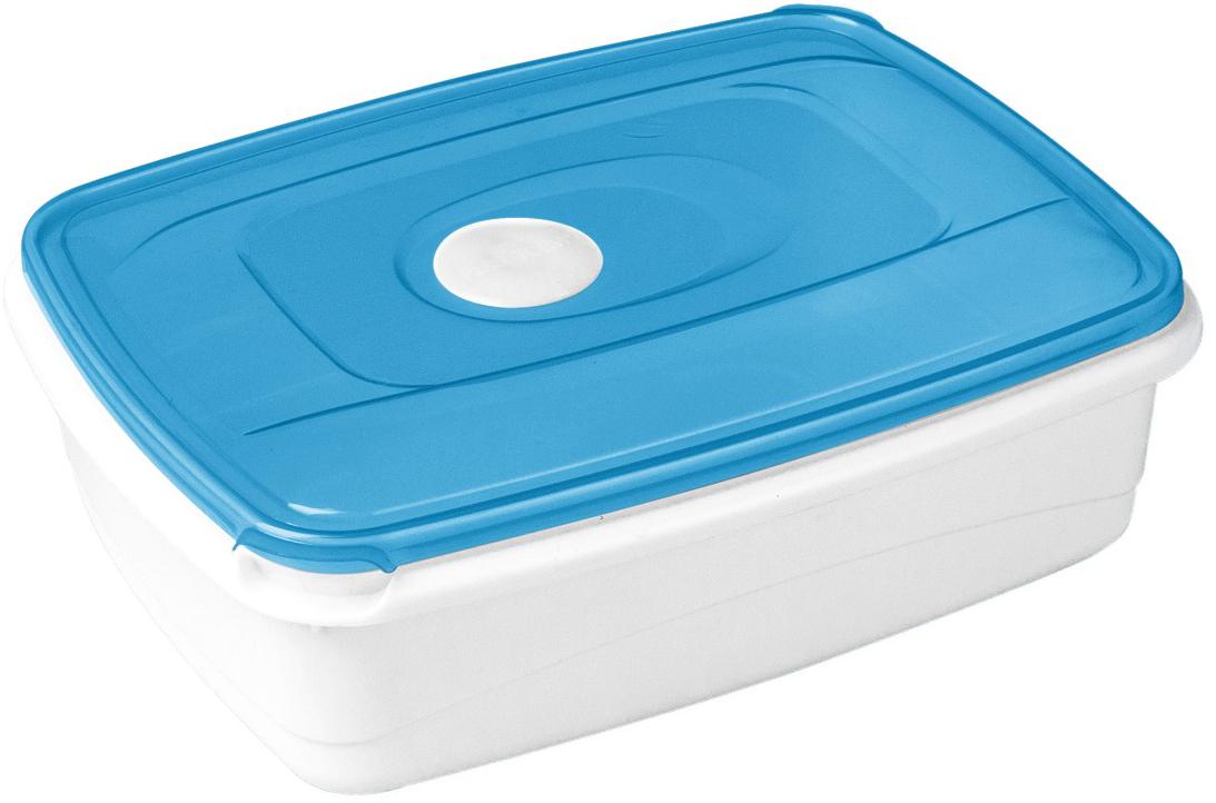 Контейнер пищевой Plast Team, цвет: голубой, 1,3 лPT1544ГПР-12РNКонтейнер Plast Team выполнен из пищевого пластика. Емкость специально разработана для использования в СВЧ. При разогревании не обязательно открывать крышку, так как паровыпускной клапан автоматически выпустит излишнее давление. Благодаря специальной конструкции крышка плотно фиксируется на корпусе. Для удобства открывания предусмотрена специальная выемка.