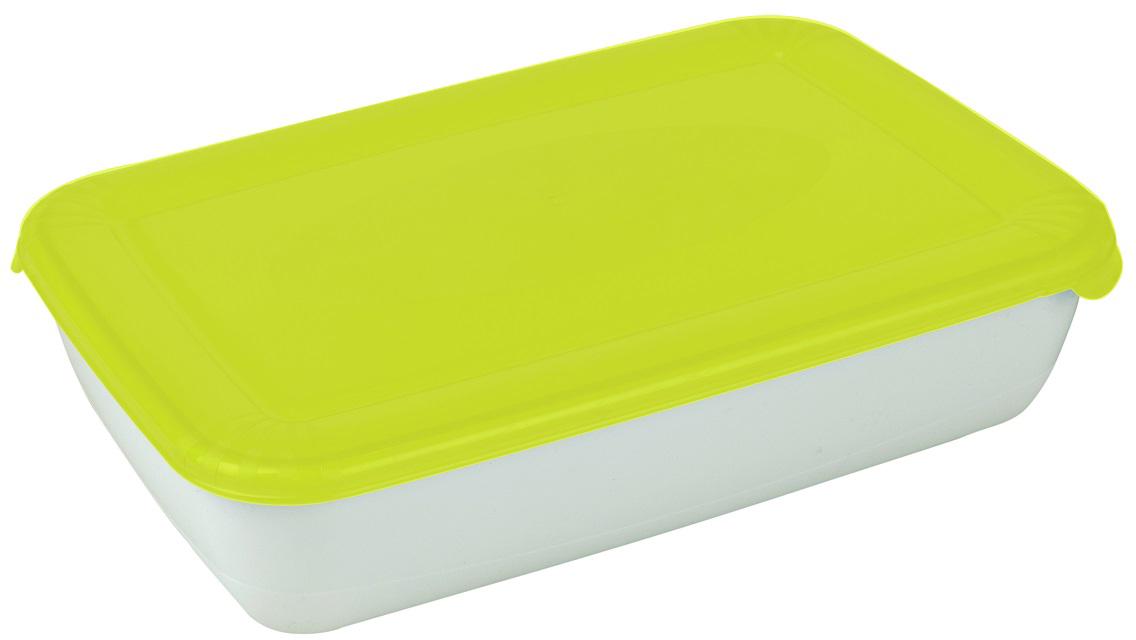 Контейнер пищевой Plast Team Polar, цвет: лайм, 0,9 л контейнер пищевой plast team polar цвет лайм 1 5 л