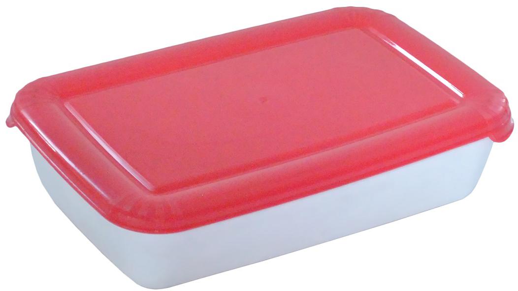 Контейнер пищевой Plast Team Polar, цвет: коралловый, 3 л контейнер пищевой plast team polar цвет лайм 1 5 л