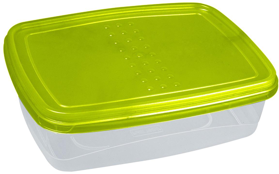 Контейнер пищевой Plast Team Pattern Flex, цвет: лайм, 1,3 лPT1132ЛАЙМ-12Гибкая крышка, выполненная из полиэтилена, буквально натягивается на контейнеры, обеспечивая плотное прилегание к корпусу. Контейнеры предназначены для хранения в холодильнике и разогрева в СВЧ (без крышки).