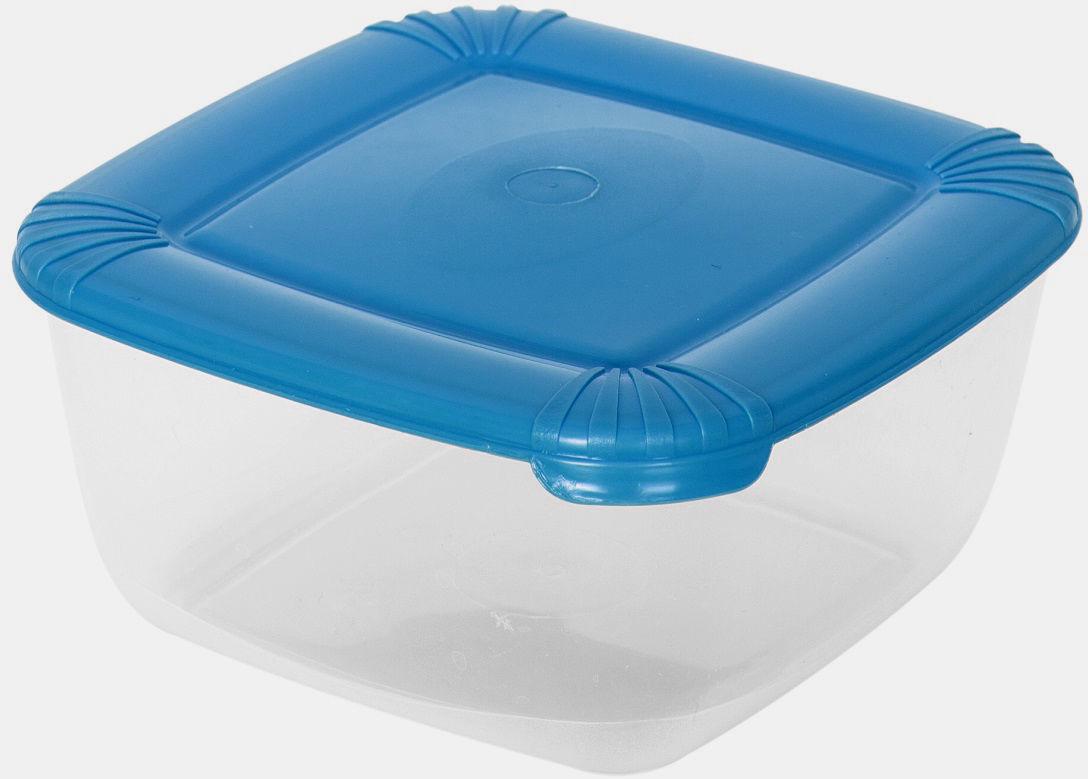 Контейнер пищевой Plast Team Polar, цвет: голубой, 460 мл, 11,5 х 11,5 х 5,5 смPT1674ГПР-25РNУниверсальные качественные контейнеры предназначены для хранения в холодильнике и морозилке, разогрева в СВЧ (не более 3-х минут, при открытой крышке). Благодаря покрытию шагрень на верхней плоскости крышки контейнер удобно держать в руках и контейнеры надежно устанавливаются друг на друга.