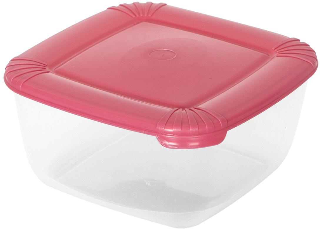 Контейнер пищевой Plast Team Polar, цвет: коралловый, 1,5 л, 16,8 х 16,8 х 8,5 смPT1676КОРАЛ-16РNУниверсальные качественные контейнеры предназначены для хранения в холодильнике и морозилке, разогрева в СВЧ (не более 3-х минут, при открытой крышке). Благодаря покрытию шагрень на верхней плоскости крышки контейнер удобно держать в руках и контейнеры надежно устанавливаются друг на друга.