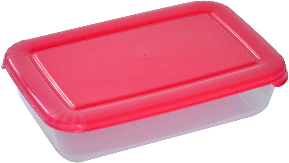 Контейнер пищевой Plast Team Polar, цвет: коралловый, 1,9 л, 25,8 х 16,8 х 6 смPT1672КОРАЛ-12РNУниверсальные качественные контейнеры предназначены для хранения в холодильнике и морозилке, разогрева в СВЧ (не более 3х минут, при открытой крышке). Благодаря покрытию шагрень на верхней плоскости крышки контейнер удобно держать в руках и контейнеры надежно устанавливаются друг на друга.