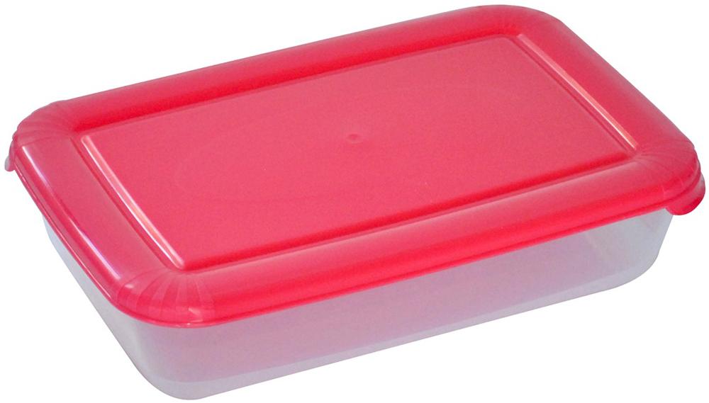 Контейнер пищевой Plast Team Polar, цвет: коралловый, 3 л, 29,5 х 19,5 х 7,5 смPT1673КОРАЛ-10РNУниверсальные качественные контейнеры Plast Team Polar предназначены для хранения продуктов в холодильнике и морозилке, разогрева в СВЧ (не более 3-х минут, при открытой крышке). Благодаря покрытию шагрень на верхней плоскости крышки контейнер удобно держать в руках и контейнеры надежно устанавливаются друг на друга.