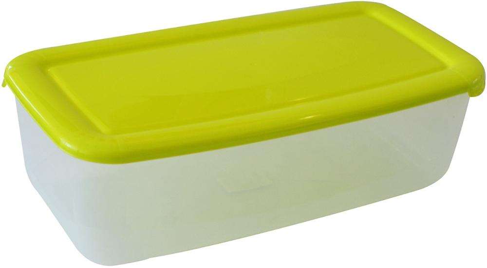 Контейнер пищевой Plast Team Polar, цвет: лайм, 6 л контейнер пищевой plast team polar цвет лайм 1 5 л