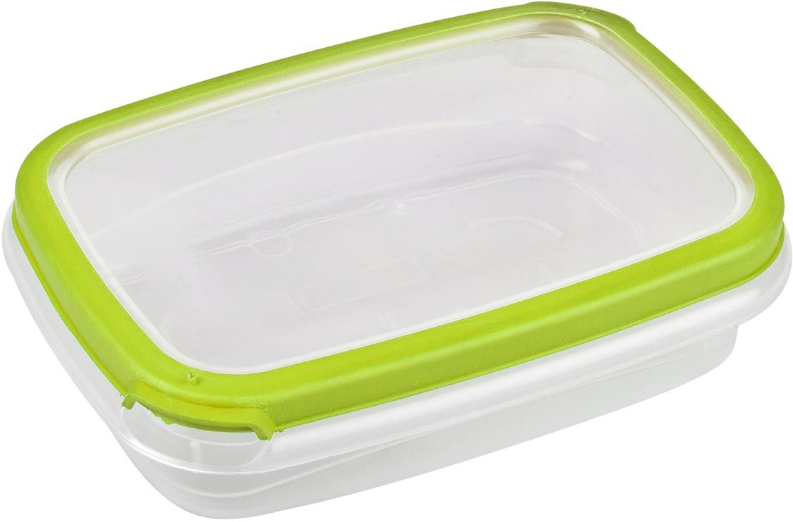 Контейнер пищевой Plast Team Bico, цвет: лайм, с крышкой, 300 мл контейнер пищевой plast team bico цвет лайм с крышкой 600 мл