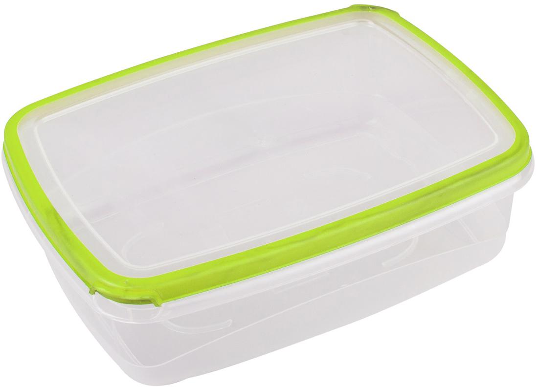 Контейнер пищевой Plast Team Bico, цвет: лайм, с крышкой, 600 мл контейнер пищевой plast team bico цвет лайм с крышкой 600 мл