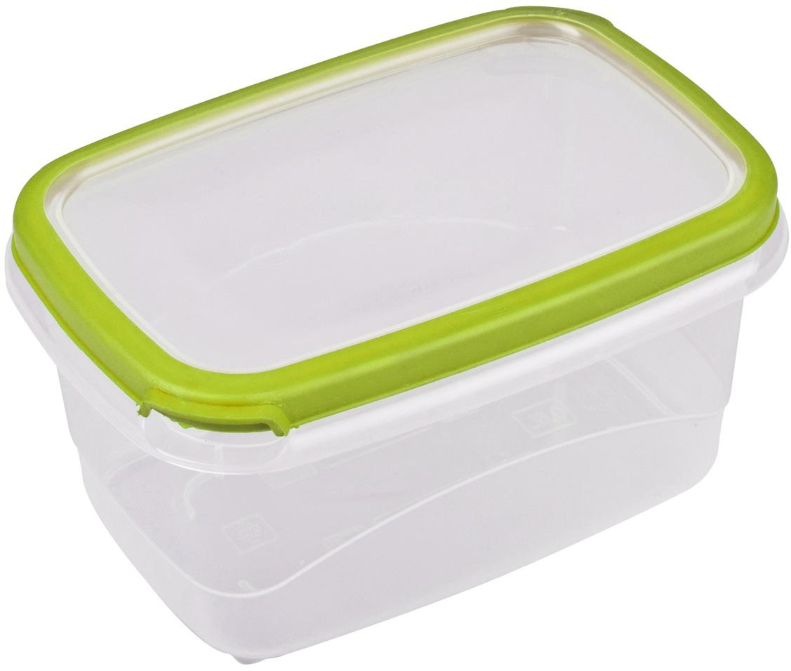 Контейнер пищевой Plast Team Bico, цвет: лайм, с крышкой, 2,3 л