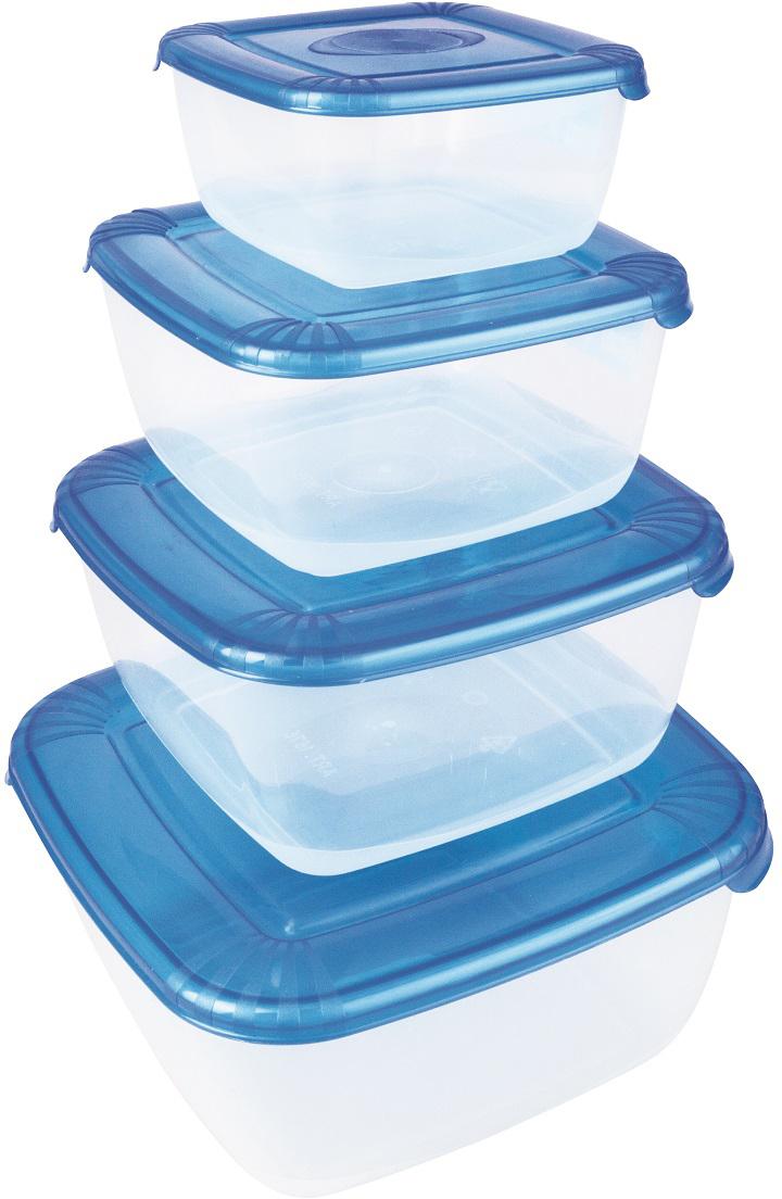 Универсальные качественные контейнеры предназначены для хранения в холодильнике и  морозилке, разогрева в СВЧ (не более 3х минут, при открытой крышке). Благодаря покрытию  шагрень на верхней плоскости крышки контейнер удобно держать в руках и контейнеры надежно  устанавливаются друг на друга.