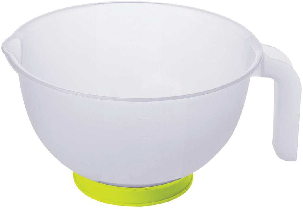 Емкость мерная Plast Team, цвет: желтый, 1 л песочница бассейн marian plast palplay лодочка желтый 308